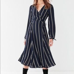 Urban Outfitters NWT Long Sleeve Wrap Dress